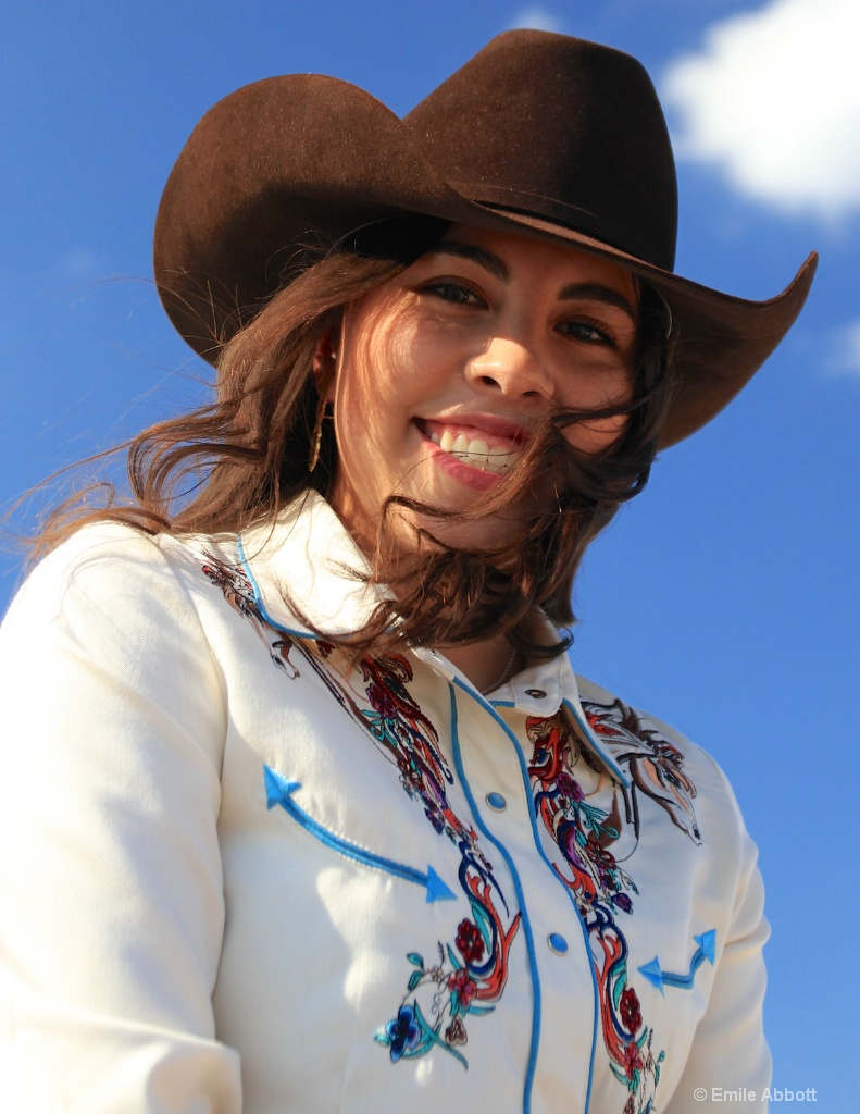 """Mariela Lopez """"Rotary Rodeo Queen"""""""