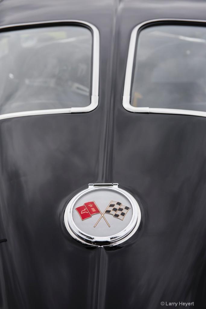 Classic Corvette- San Marino Auto Show