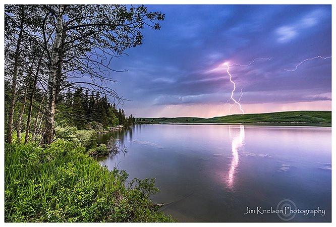 Lightning Elkwater Lake Cypress Hills