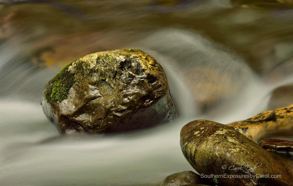 Little Pigeon River Boulders