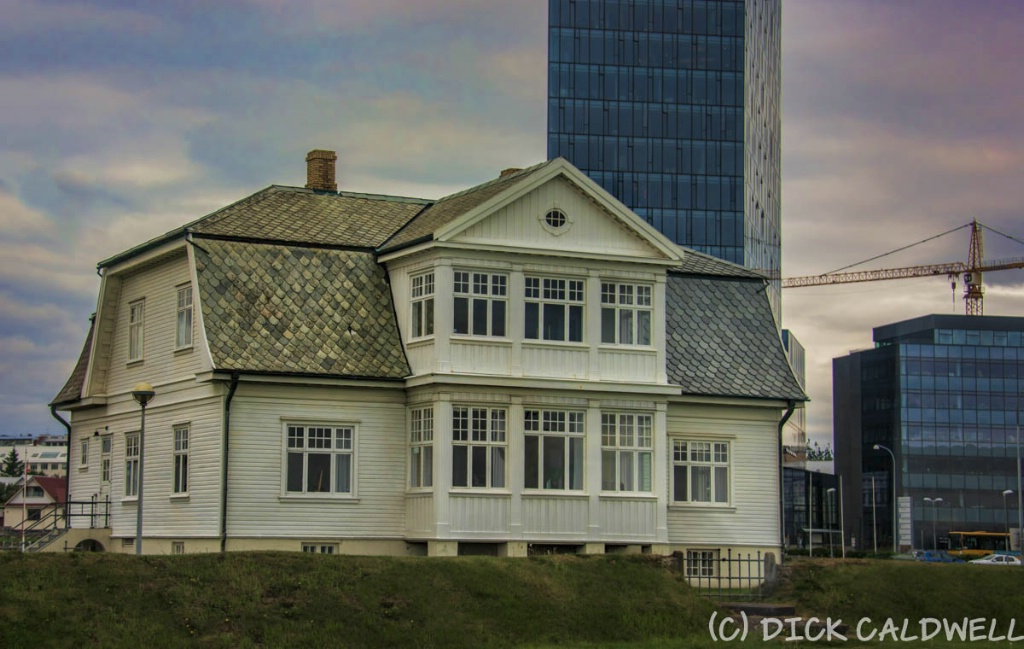 Building where the Iceland Summit took place.  Rey