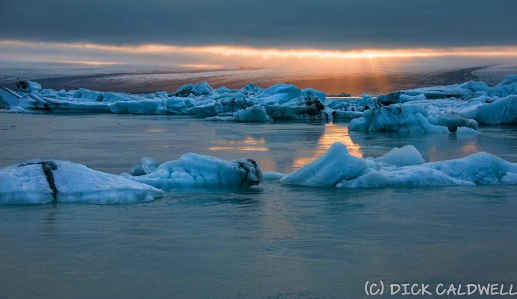 Glacial Lagoon at 11:30 PM