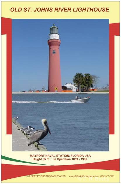 OLD ST. JOHNS RIVER LIGHT - BIRDS WATCHING $15