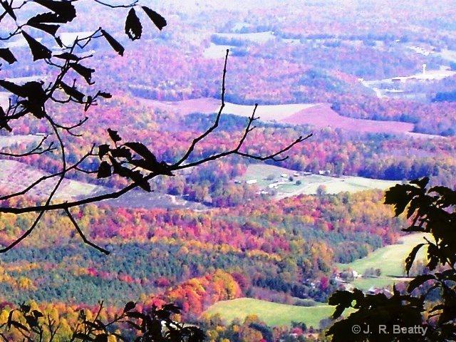An Autumn Valley View