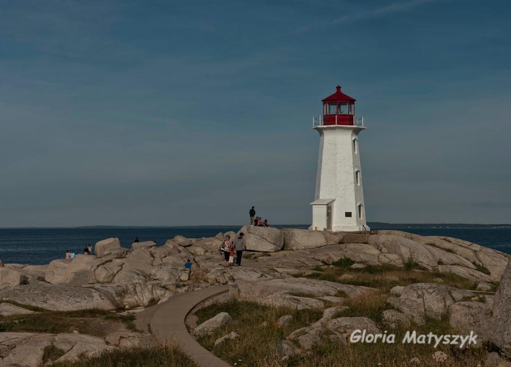 Peggy's Cove Lighthouse - Nova Scotia, Canada