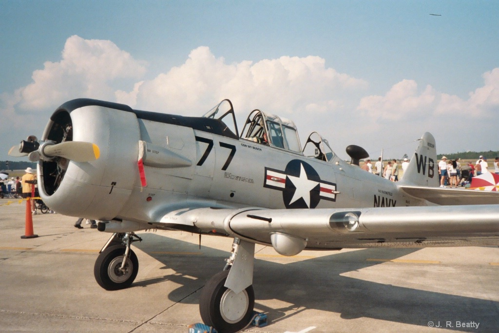WWII NAVY SNJ / T6 TEXAN TRAINER
