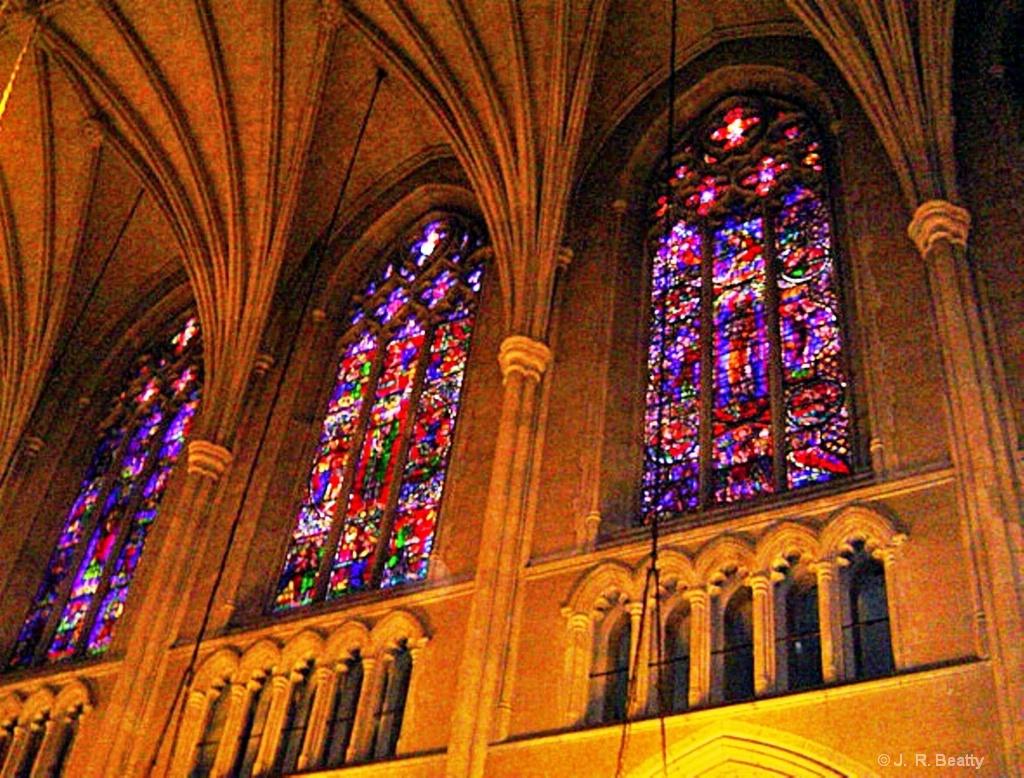 Duke U Chapel Stained Glass