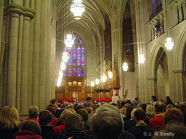 Duke U Chapel Messiah Concert