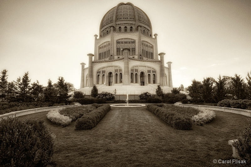 Bahai House of Worship ~ Wilmette, IL