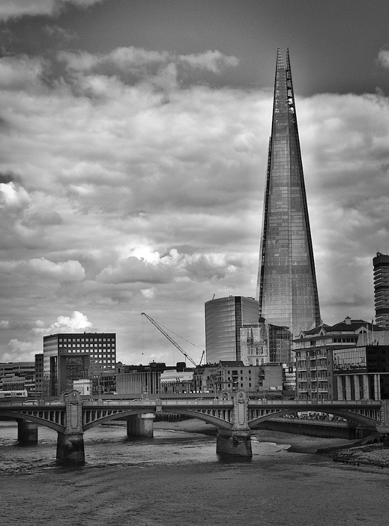 The one and only Shard in Black and White