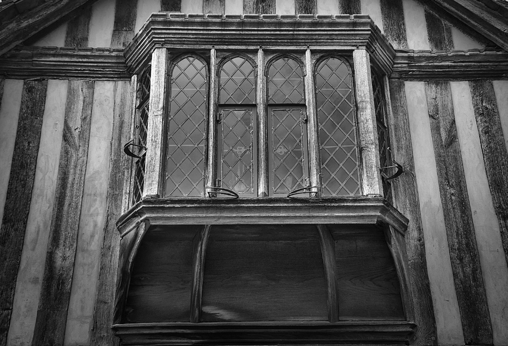 Monochome Window at Rye