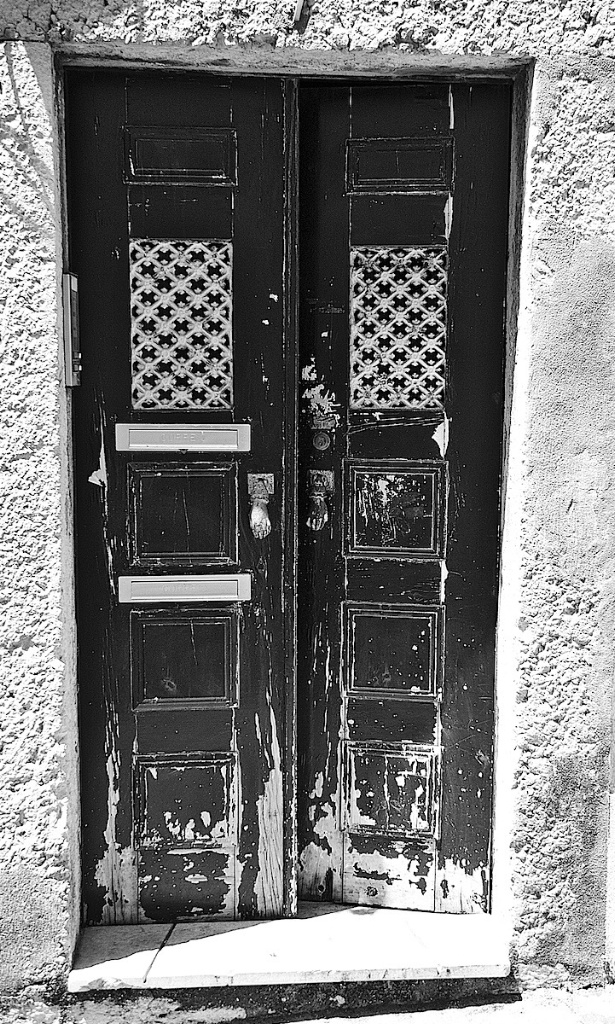 Moorish Door in Lisbon