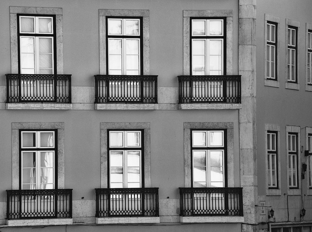 Monochromed  Windows
