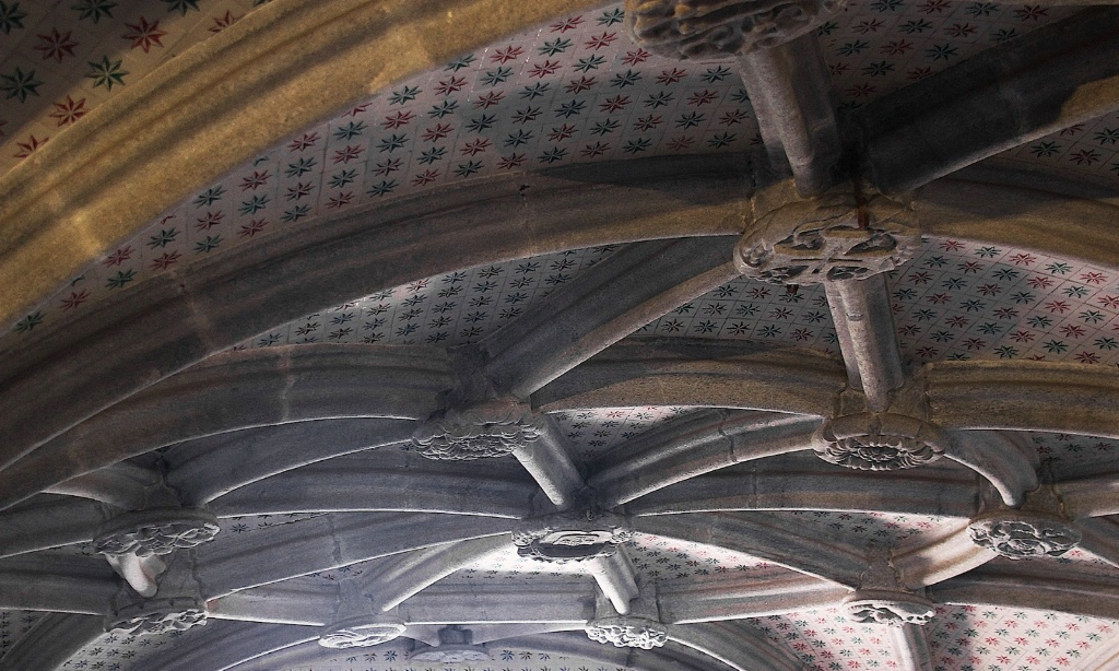 Roof in the Castle of Sintra