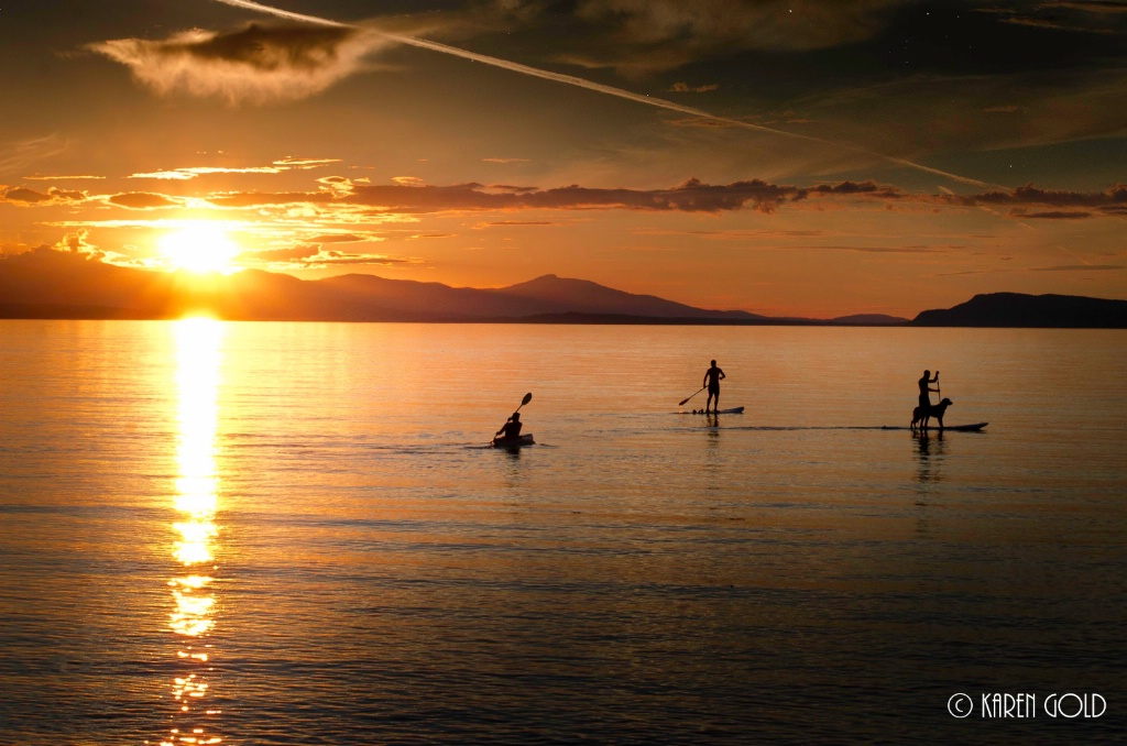 Qualicum Beach Sunset