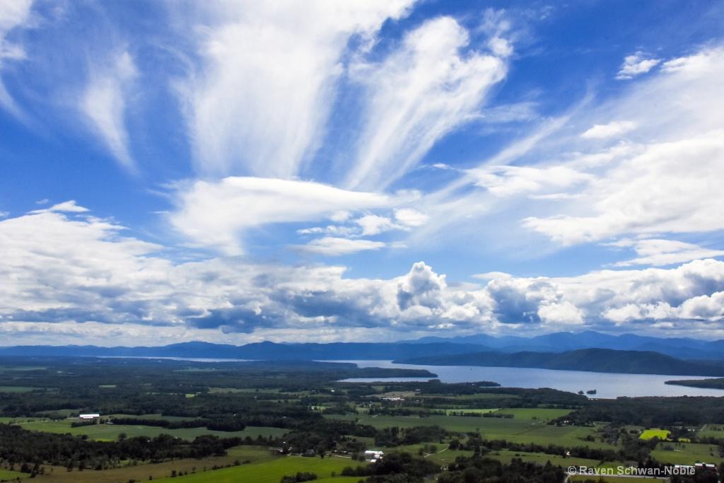 Mt Philo State Park    Lookout   Charlotte Vermont