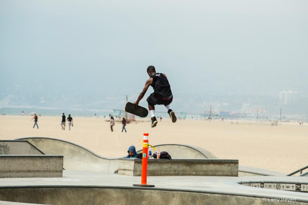 Skateboarder- Venice, CA