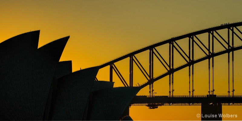 Sydney Golden Sunset