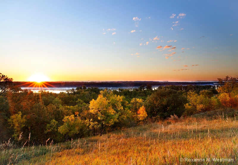 Overlook onto Missouri river