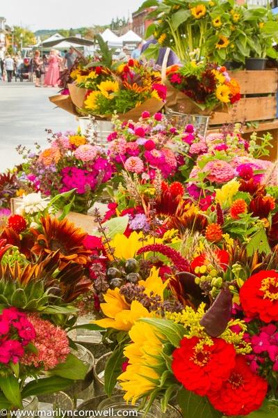 Grimsby Farmers' Market Flowers
