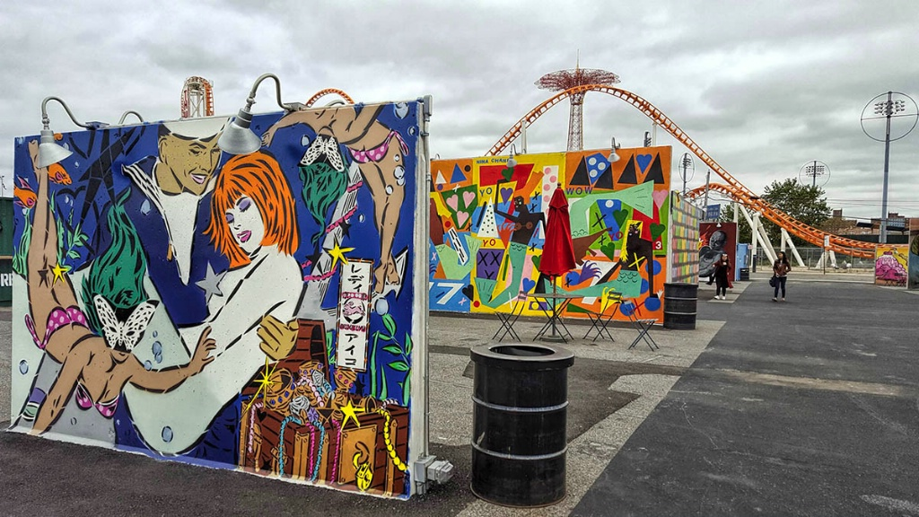 Coney Art Walls