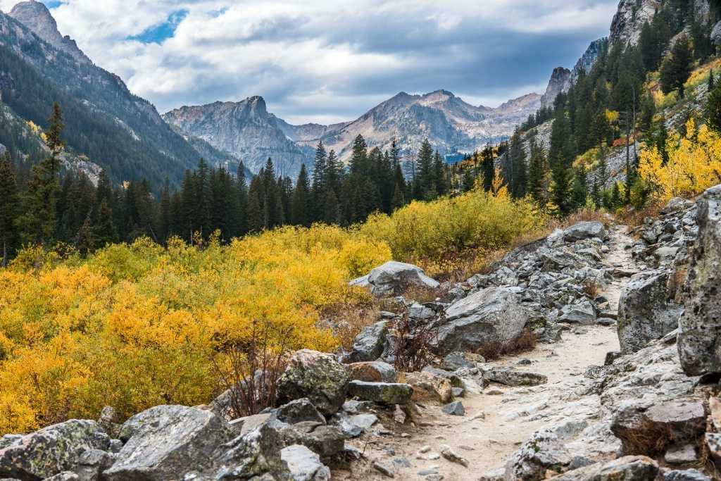 Around the Corner in Cascade Canyon