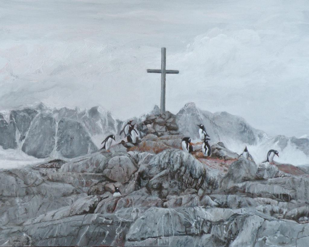 The Prayer at Petermans Cross Antarctica1 NFS