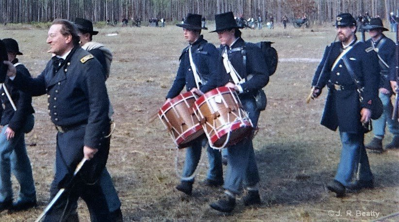 Union Officers and The Drums of War