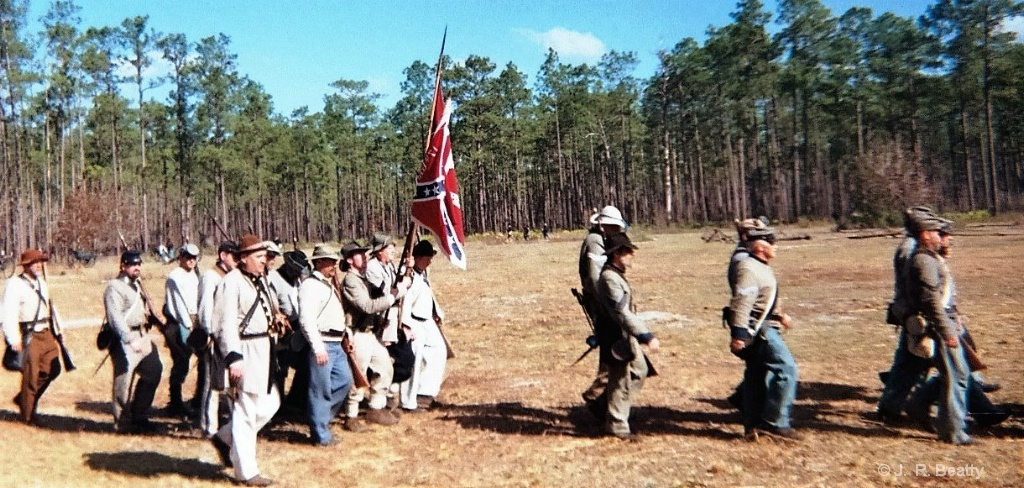OLUSTEE BATTLE - CONFEDERATE A TROOPS