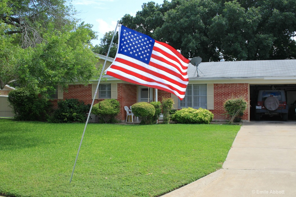 My home honors the Veterans