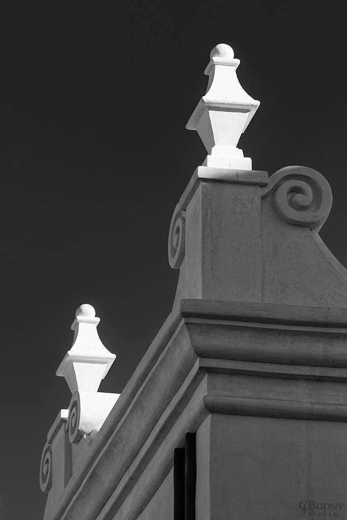 Two Finials