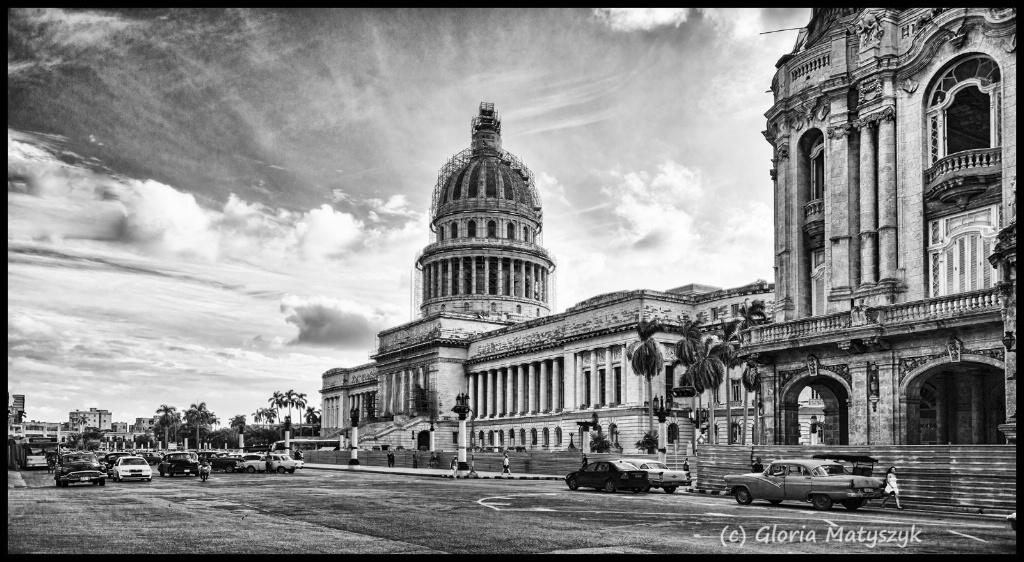 Havana, Cuba in B&W