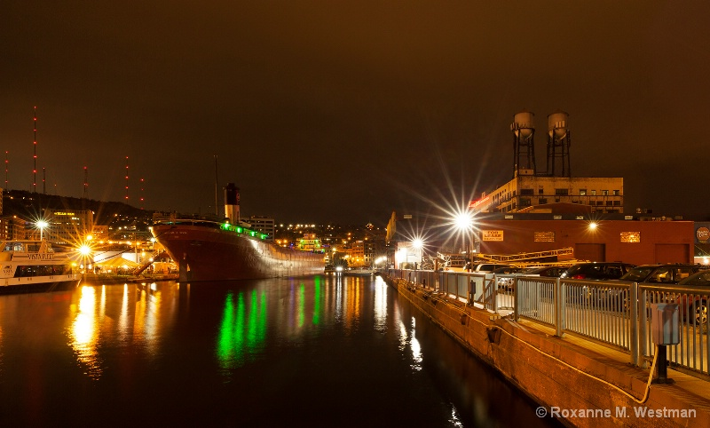 Ghost ship of Duluth MN