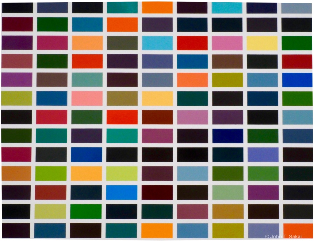 """256 Colors"" Gerhard Richter"