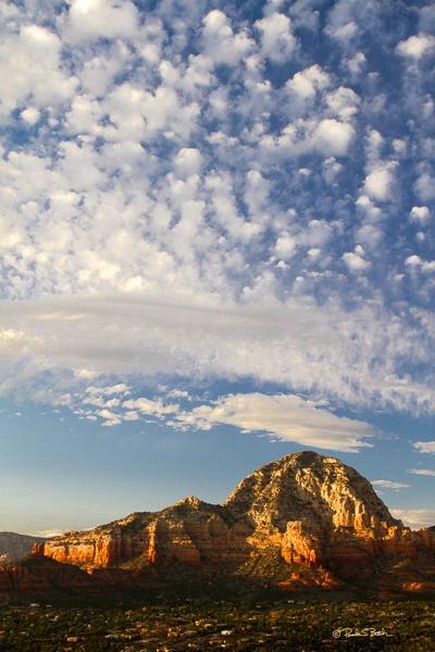 Clouds over Sedona