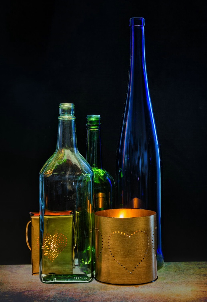 Bottles and Hearts