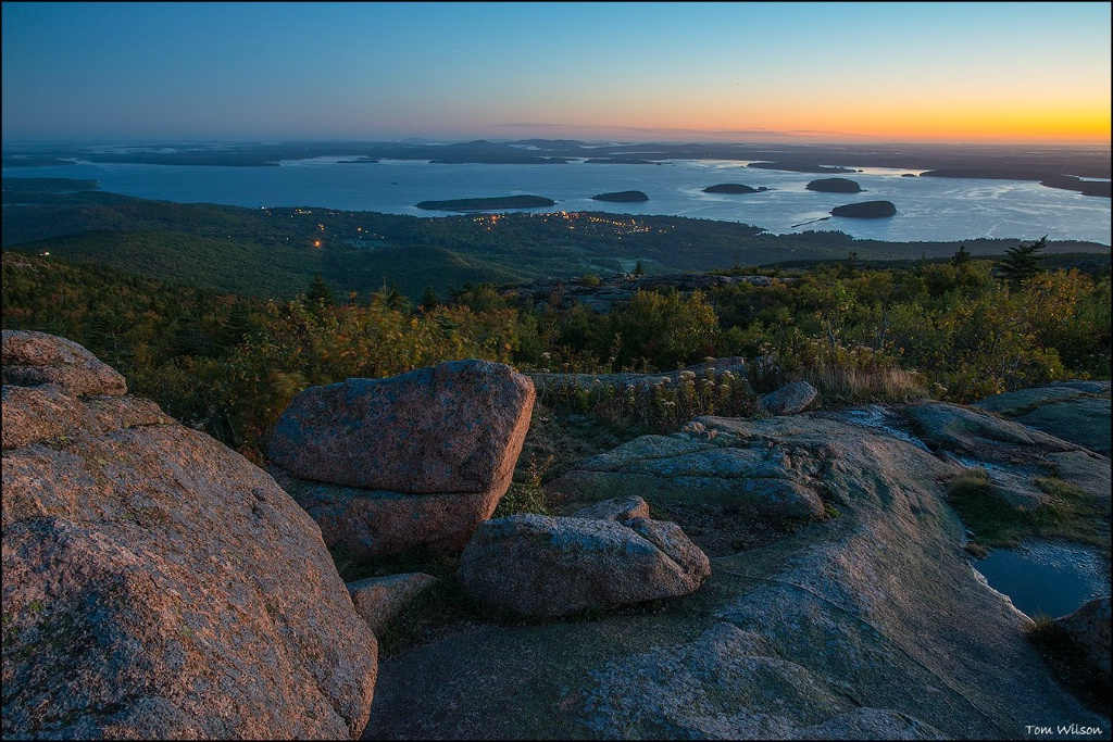 Before Sunrise on Cadillac Mountain