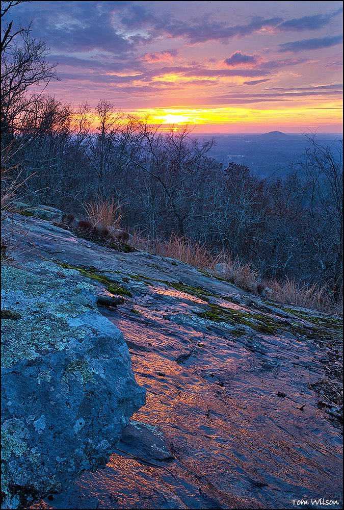 Little Kennesaw Mountain Sunset and Reflection