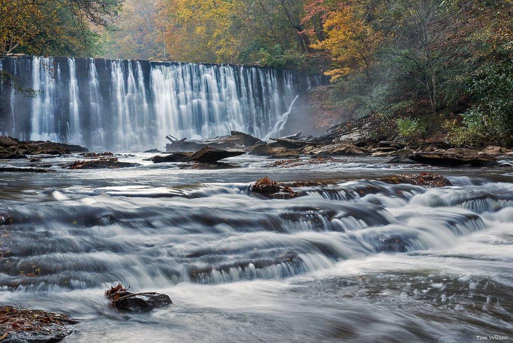 Roswell Mill Falls