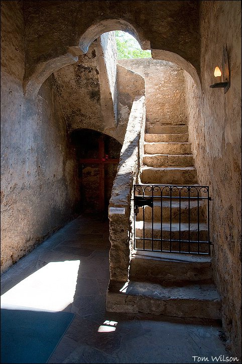 Ancient Stairs at Mission Concepcion