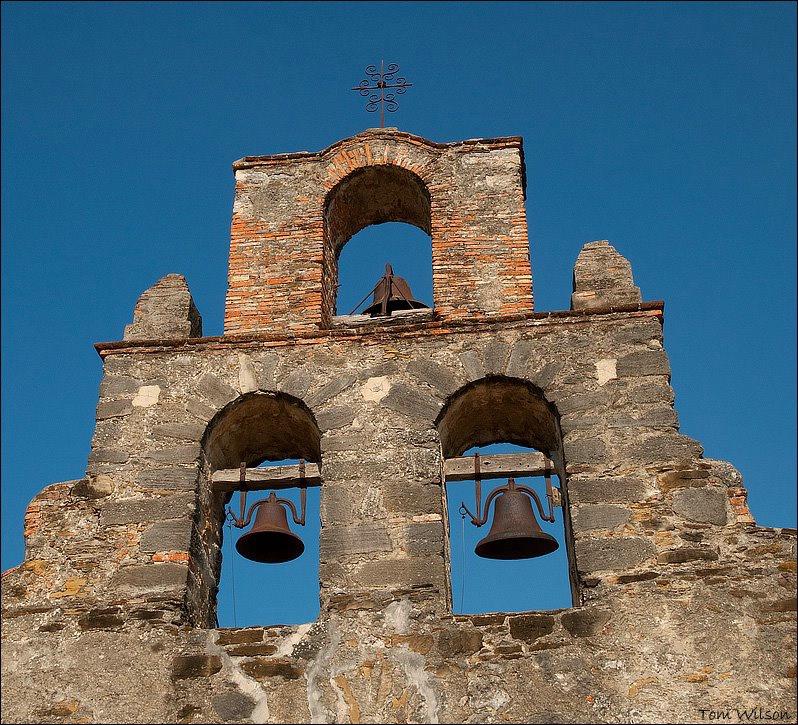 Bells at Mission San Juan