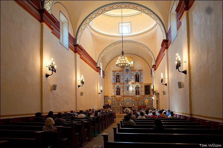 Interior of Church at Mission San Jose