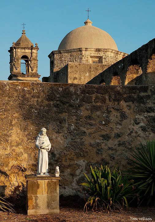 Mission San Jose with Statue