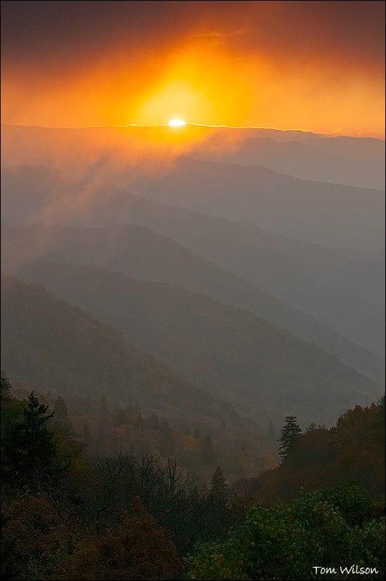 Sunrise over Ridges