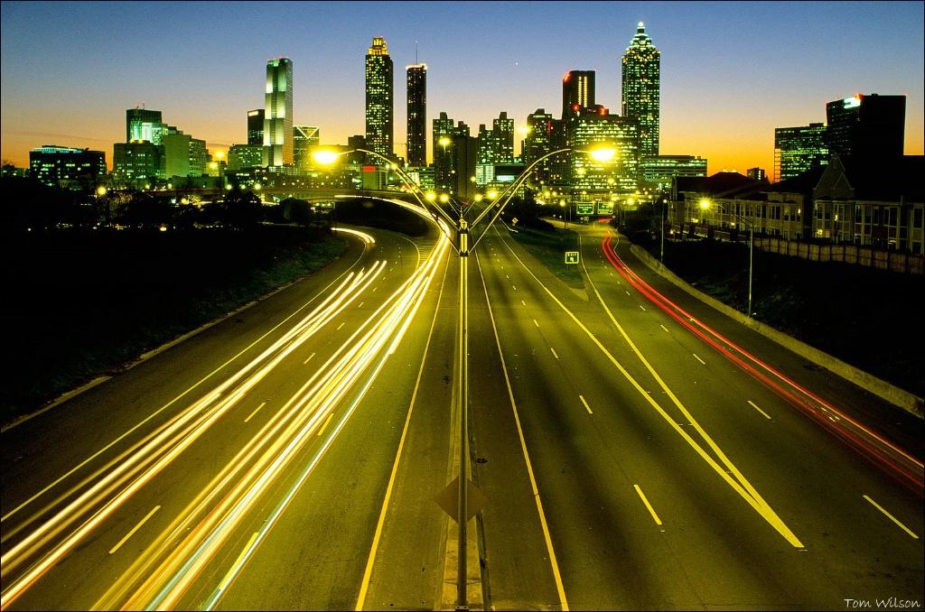 Atlanta Skyline Looking West