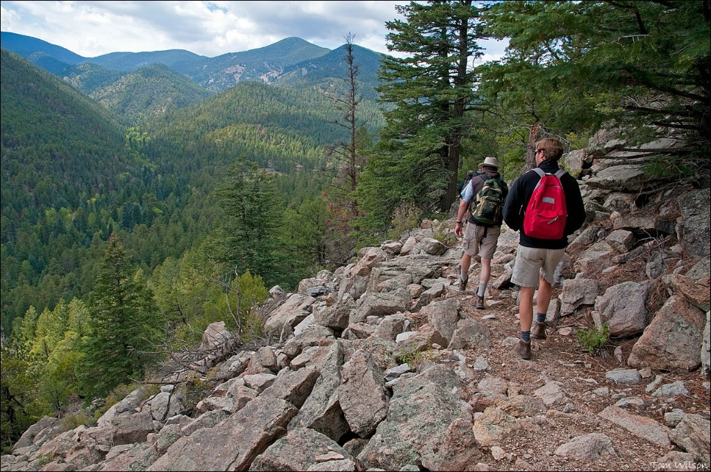 Hiking the Trails at Philmont