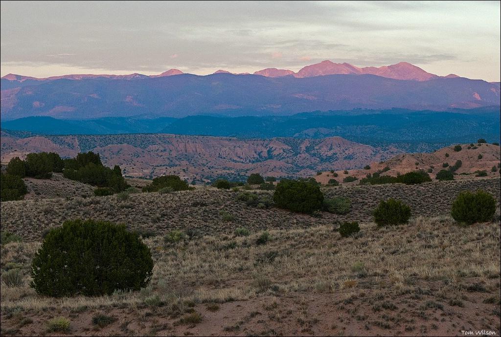 Peaks Near Santa Fe
