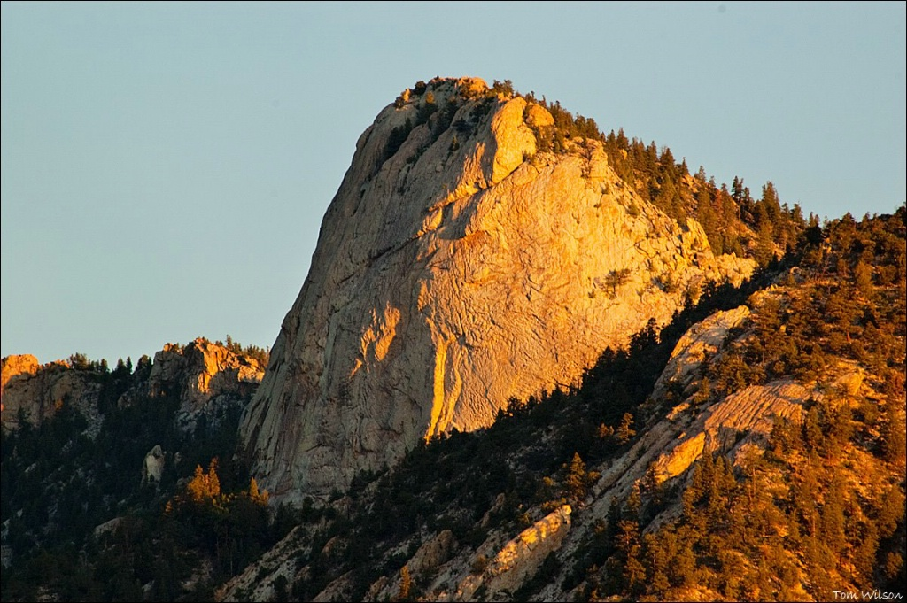 First Light on the Tooth of Time
