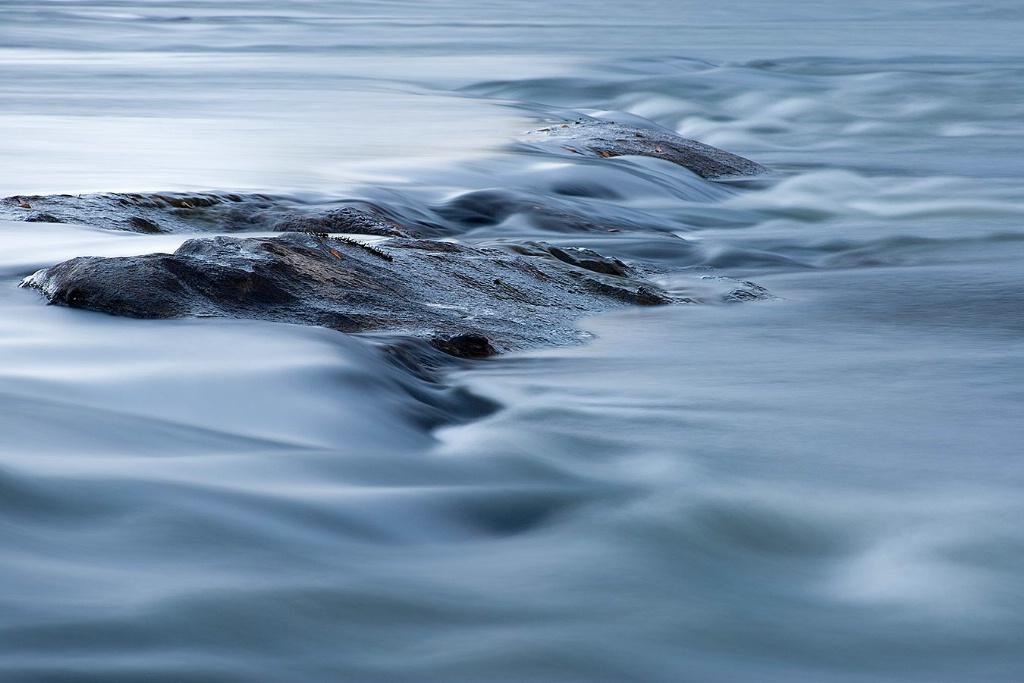 Flowing over Rocks