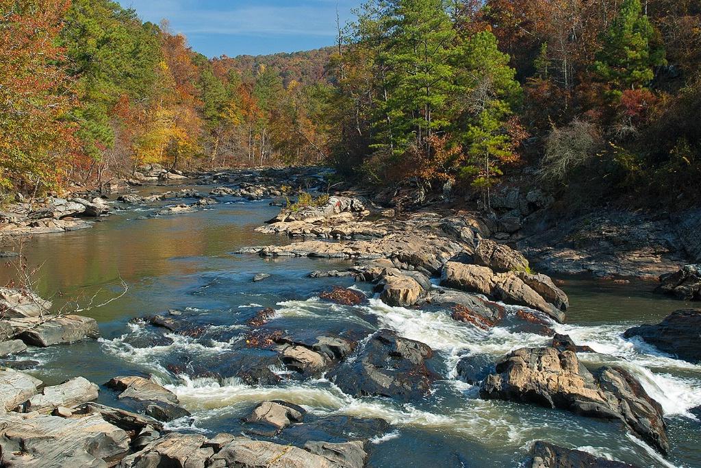 Sweetwater Creek Falls